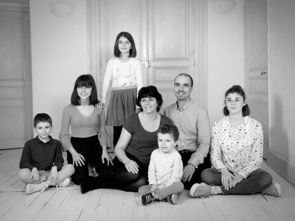 Portrait famille Photographe Fontenay le Comte