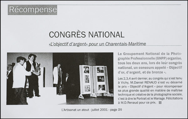Photographe Fontenay le Comte